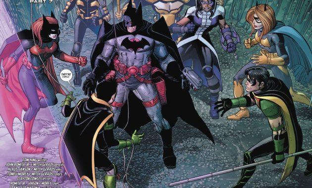 Flashpoint Batman VS The Bat Family