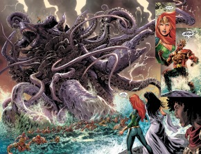 Green Arrow Kills Zombie Aquaman (DCeased)