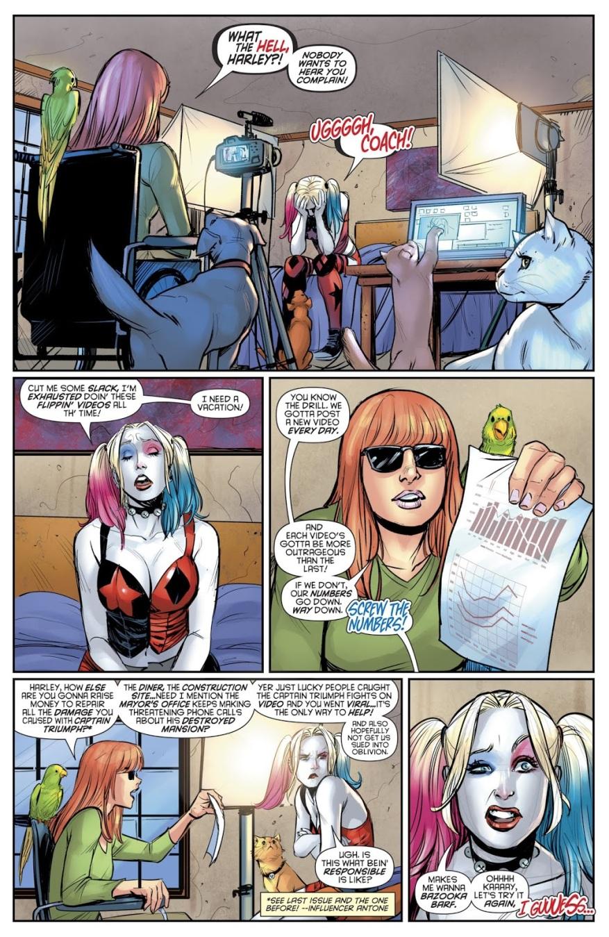 Harley Quinn As An Online Streamer