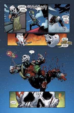 Harley Quinn Tries To Kill Lord Death Man