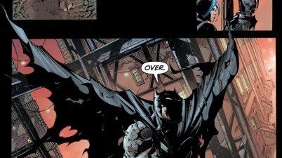 Harper Row Saves Batman