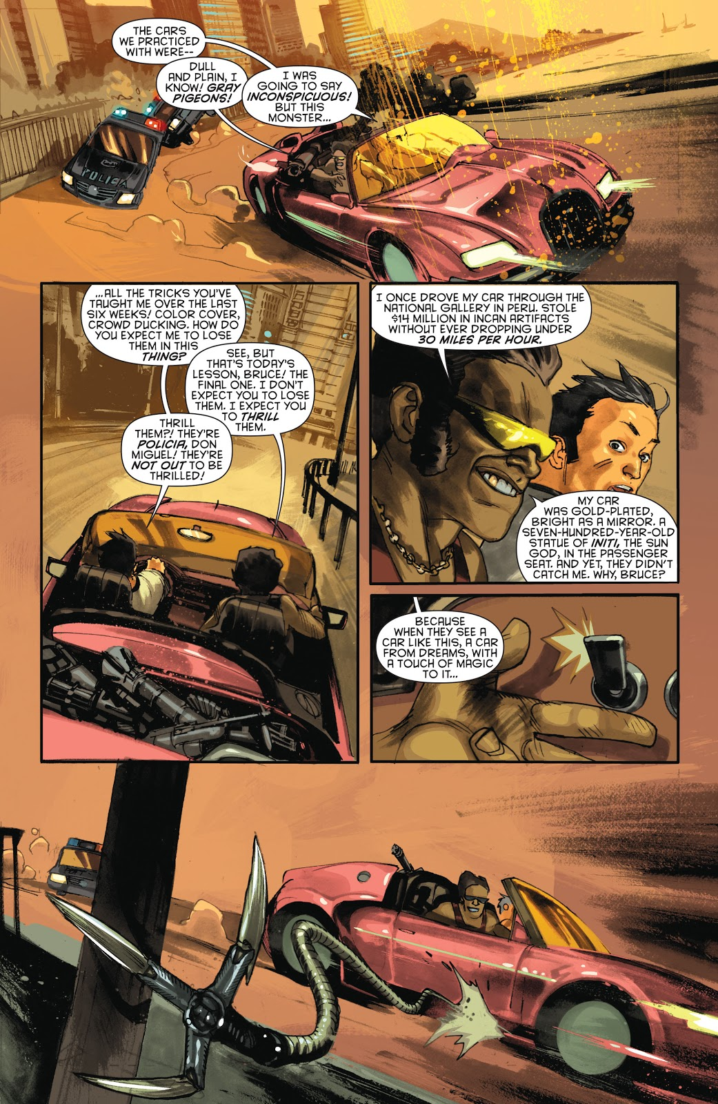 How Bruce Wayne Learned To Drive (New 52) – Comicnewbies
