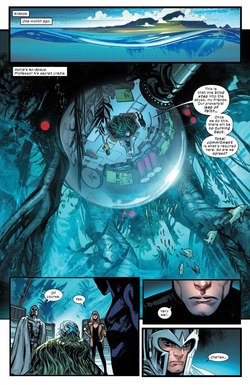 Professor X Declares Krakoa A Mutant Country (House Of X)