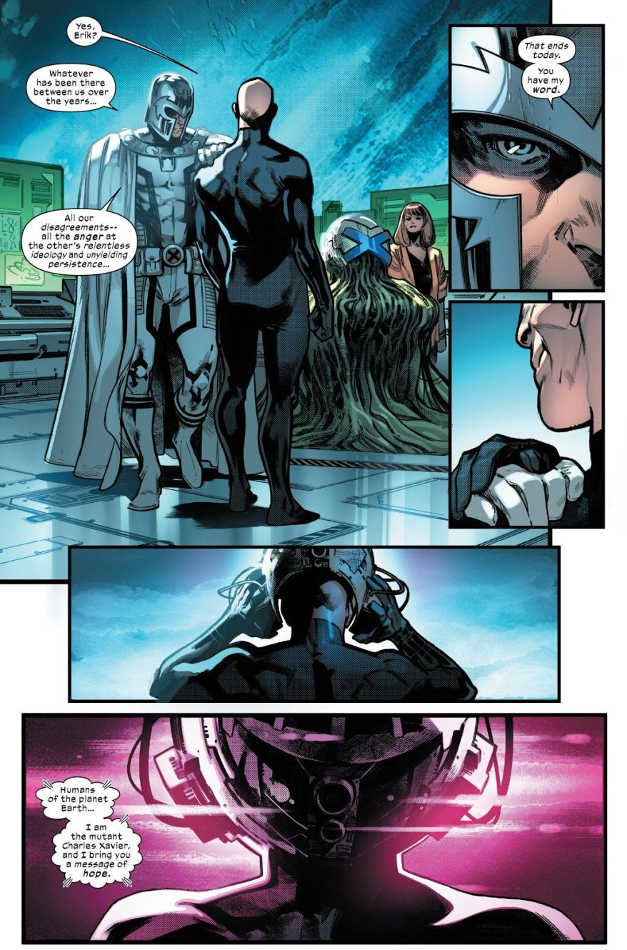 Professor X Declares Krakoa A Mutant Country (House Of X)