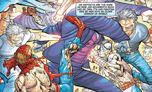 Spider-Man And Ezekiel VS Morlun