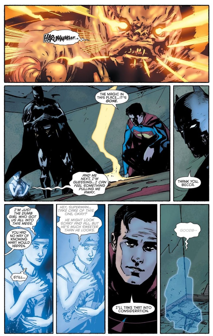 Superman And Batman VS Will O' the Wisp