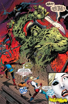 Swamp Thing (Harley Quinn Vol. 3 #50)