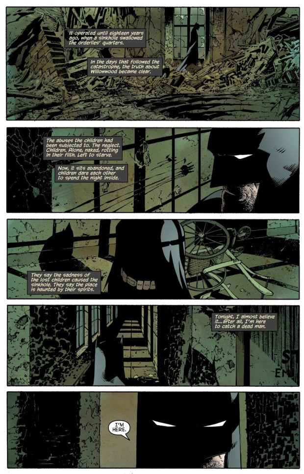 The History Of Owlman - Lincoln March