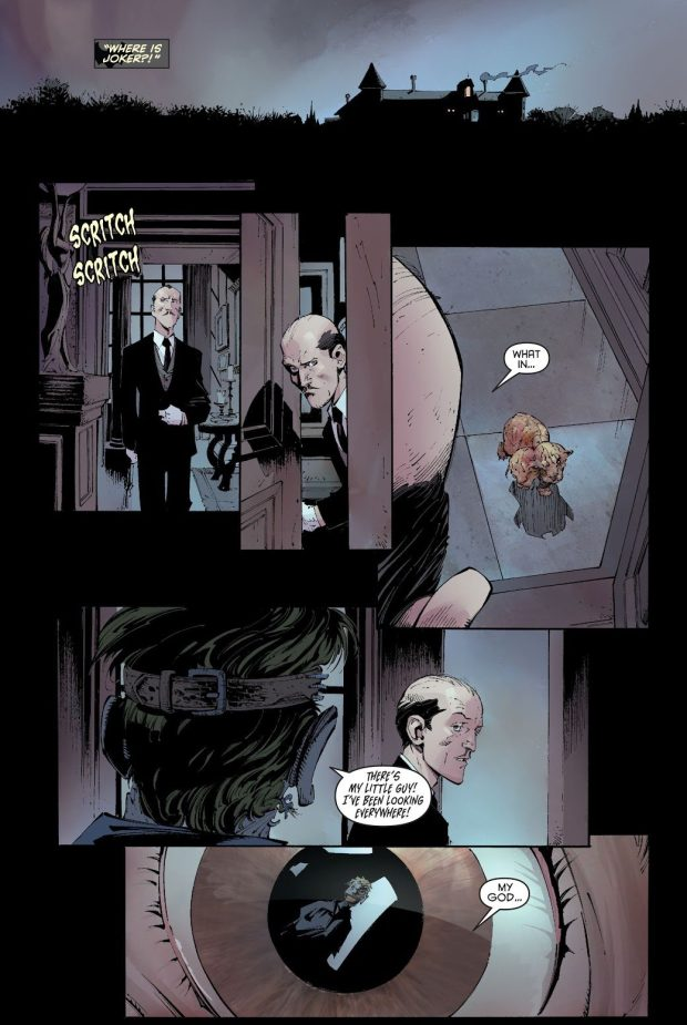 The Joker Attacks Alfred Pennyworth (New 52)