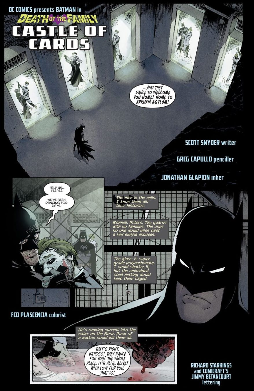 The Joker Transforms Arkham Asylum (Death Of The Family)