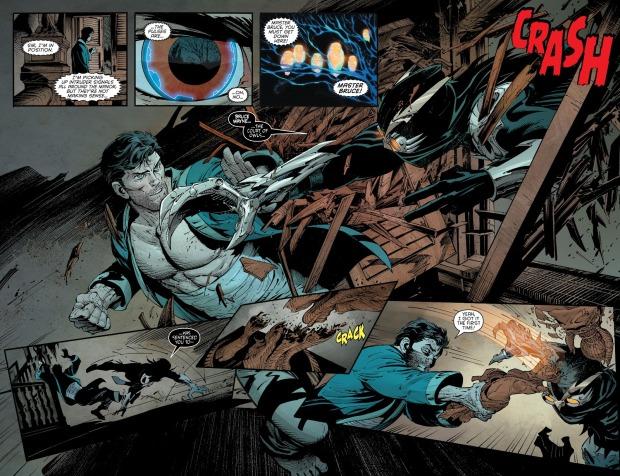 The Talons Attack Wayne Manor