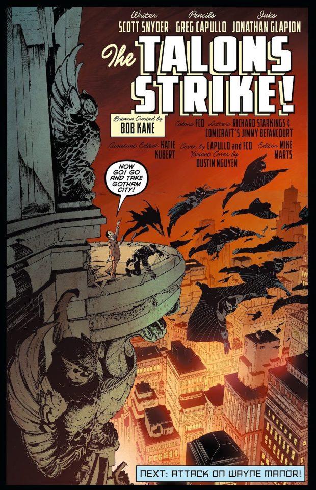 The Talons (Batman Vol. 2 #7)