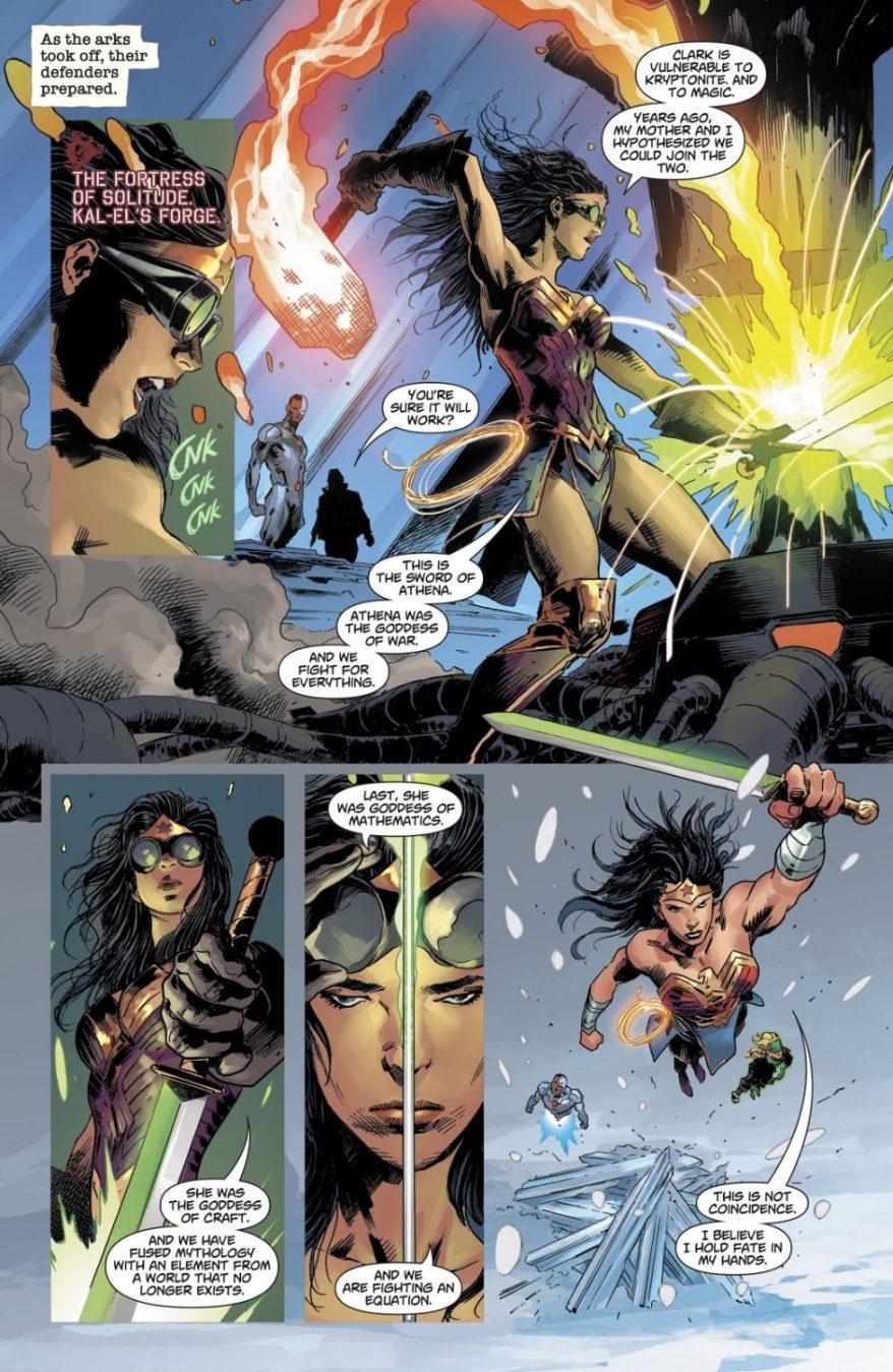 Wonder Woman's Plan To Kill Superman (DCeased)