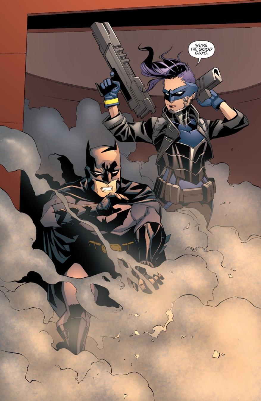 Batman And Bluebird (Batman Vol. 2 #28)