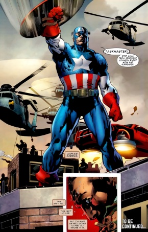 Captain America (Battle Scars #1)