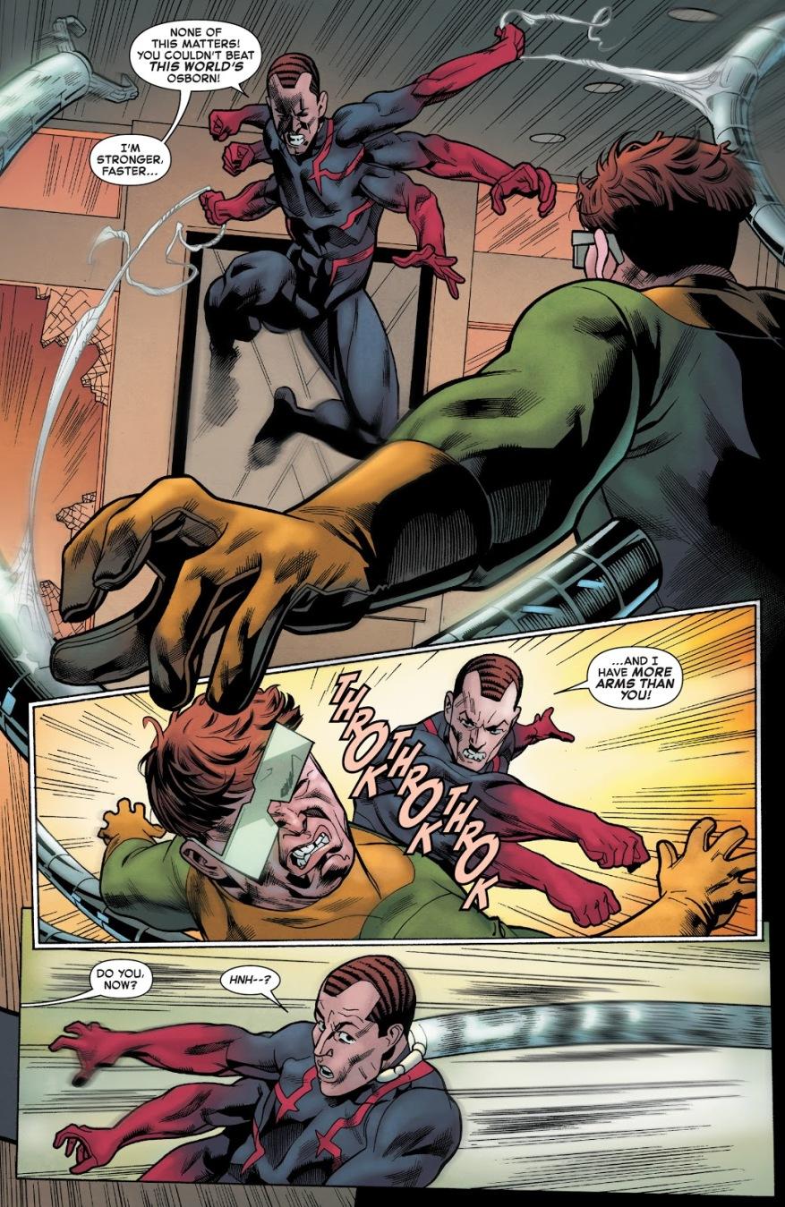Doctor Octopus VS Spider-Man (Norman Osborn)