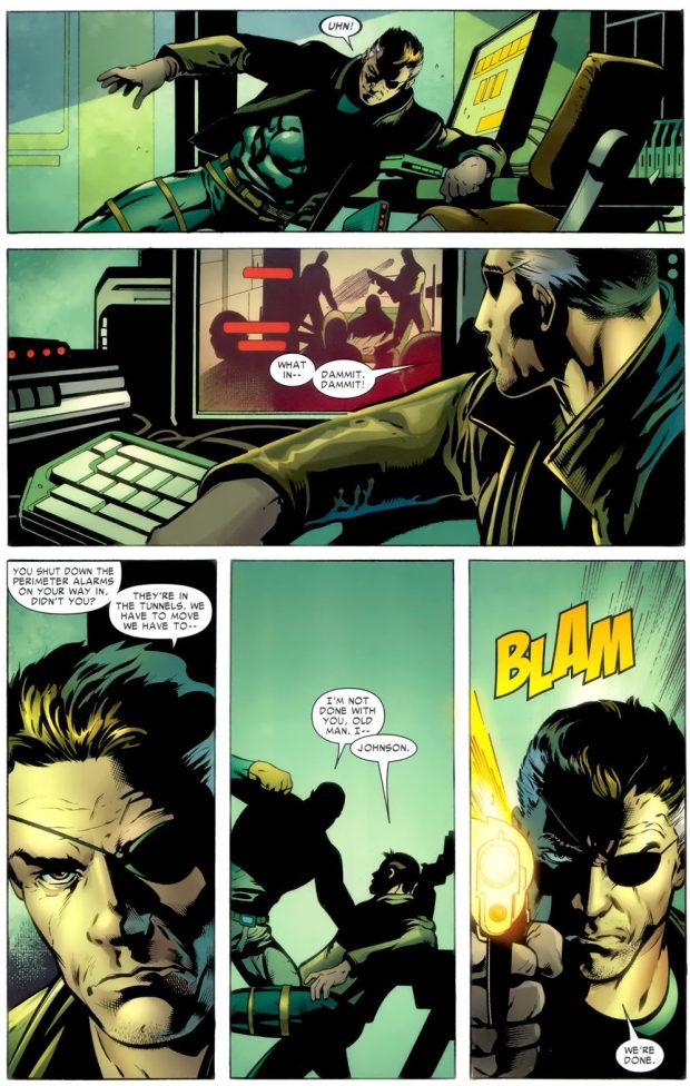 Nick Fury Admits That Marcus Johnson Is His Son