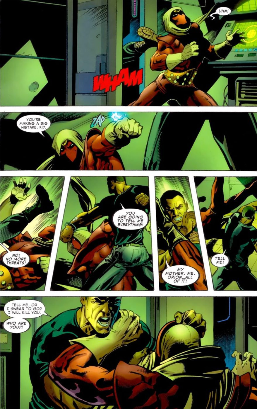 Nick Fury Is Marcus Johnson's Father
