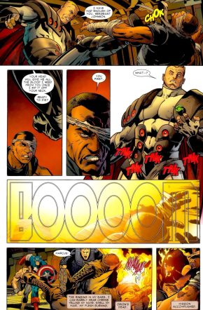 Nick Fury JR Kills Orion