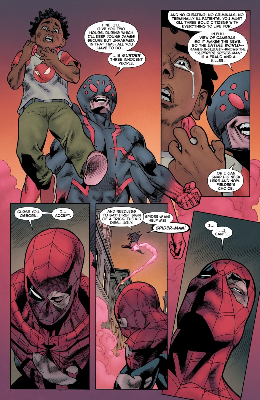 Spider-Man (Norman Osborn) VS Superior Spider-Man