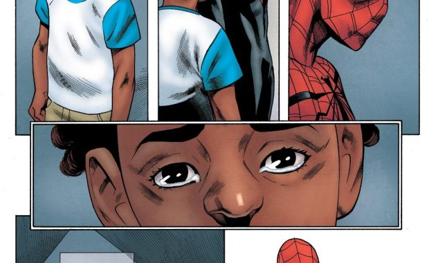 Superior Spider-Man Bonds With A Kid