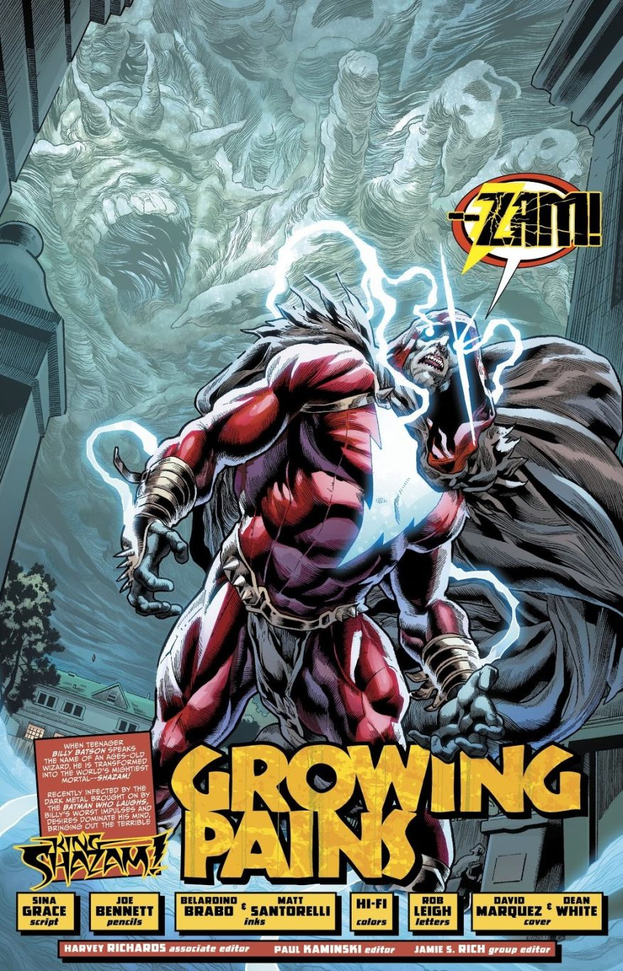The Shazam Who Laughts (The Infected: King Shazam)