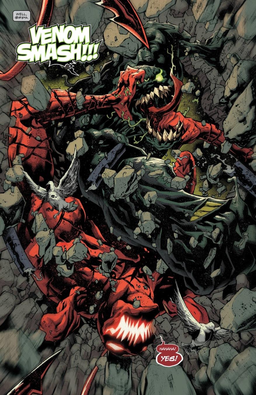 Venom Hulk VS Dark Carnage