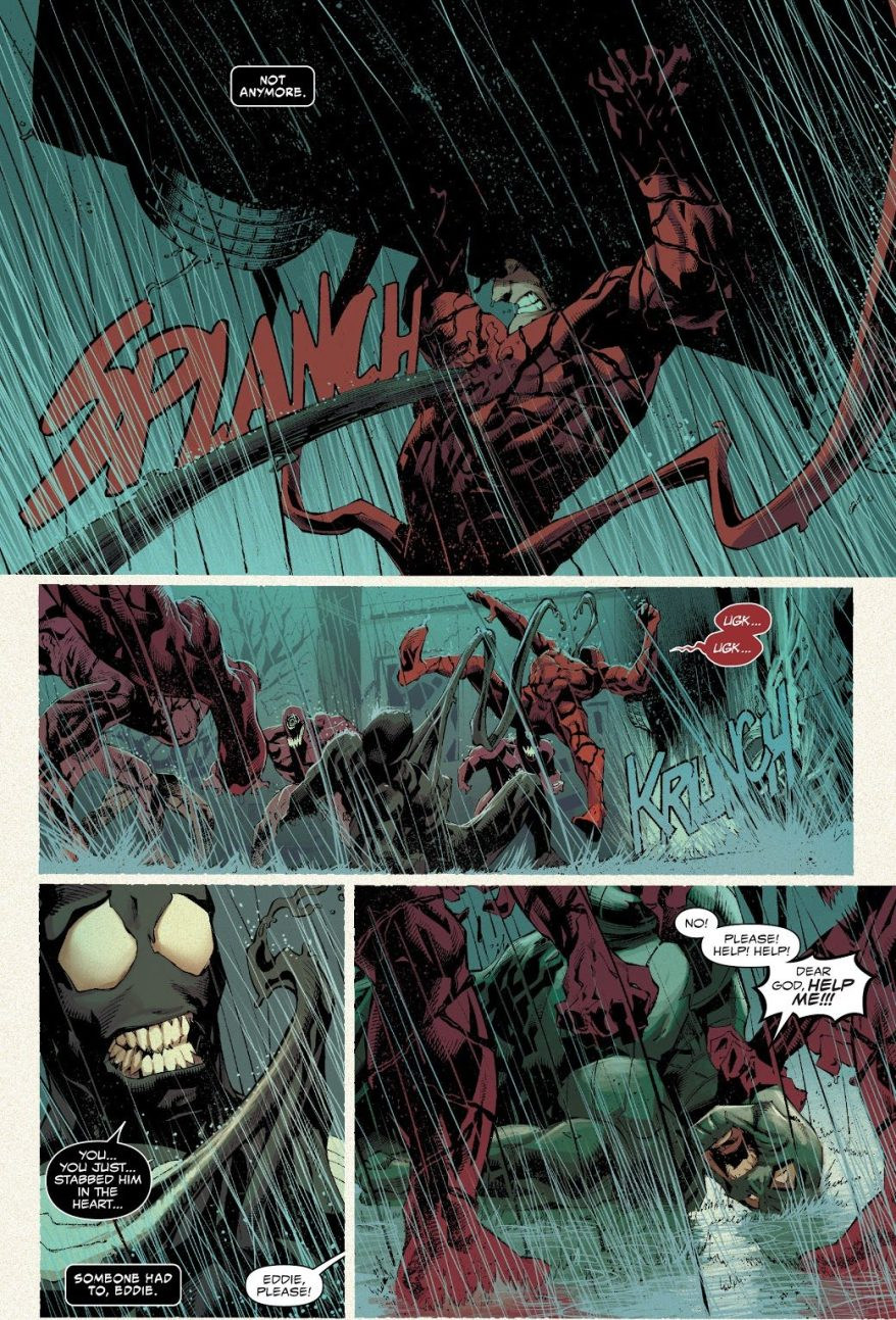 Venom Tries To Kill Norman Osborn Carnage (Absolute Carnage)