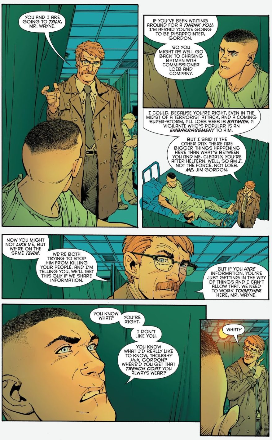 Why Bruce Wayne Doesn't Trust Jim Gordon (New 52)