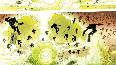 Green-Lantern-Corps-VS-Manhunters-Earth-1