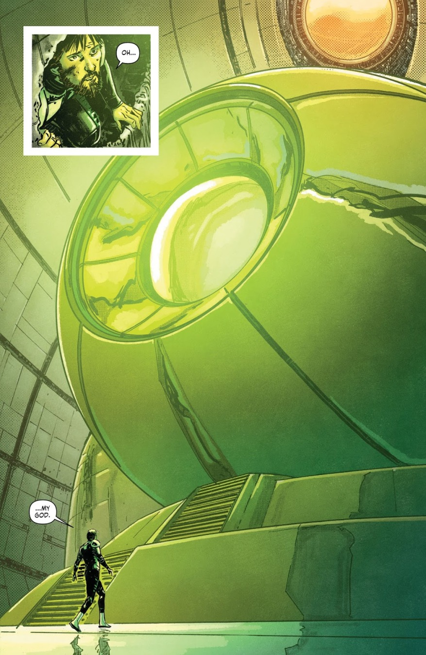 Green Lantern Main Battery (Earth 1)
