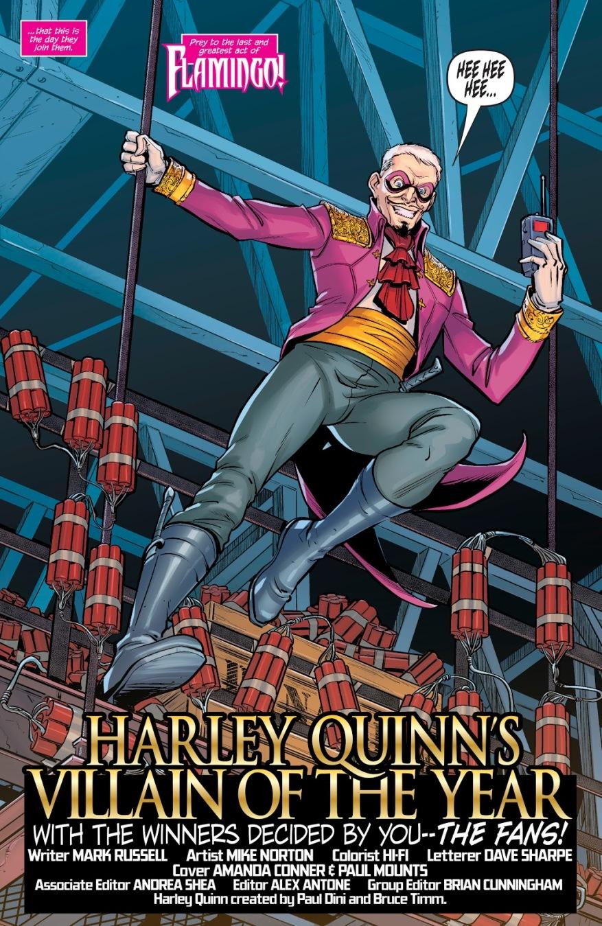 Flamingo (Harley Quinn Villain Of The Year)