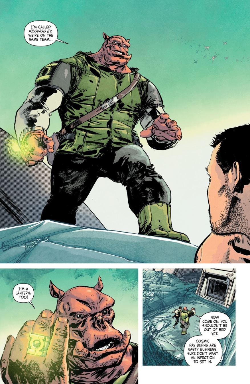 Kilowog (Earth One)