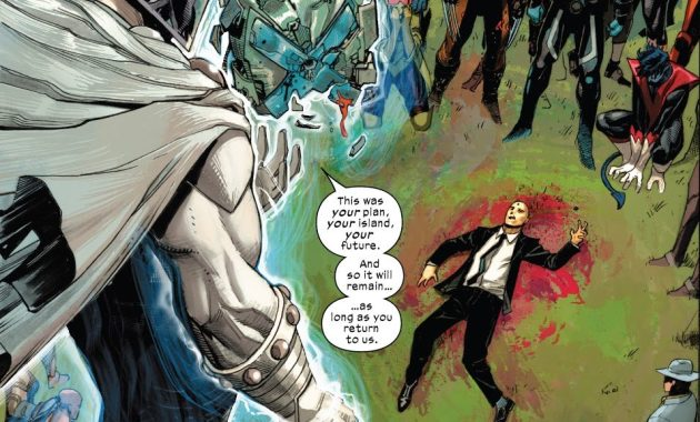 Charles Xavier Is Dead (X-Force Vol. 6 #2)