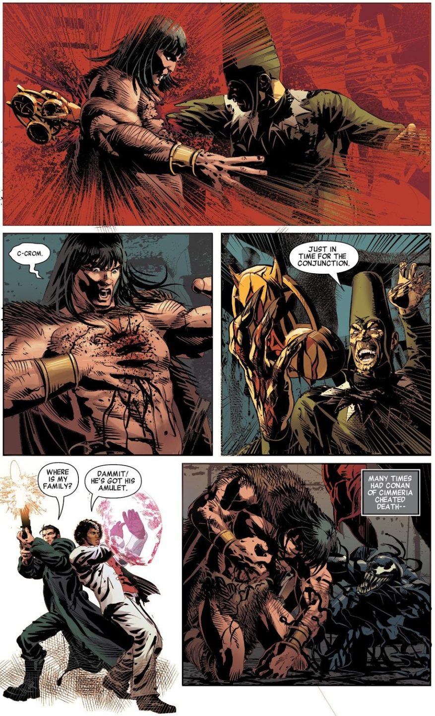 Conan The Barbarian Bonds With A Symbiote
