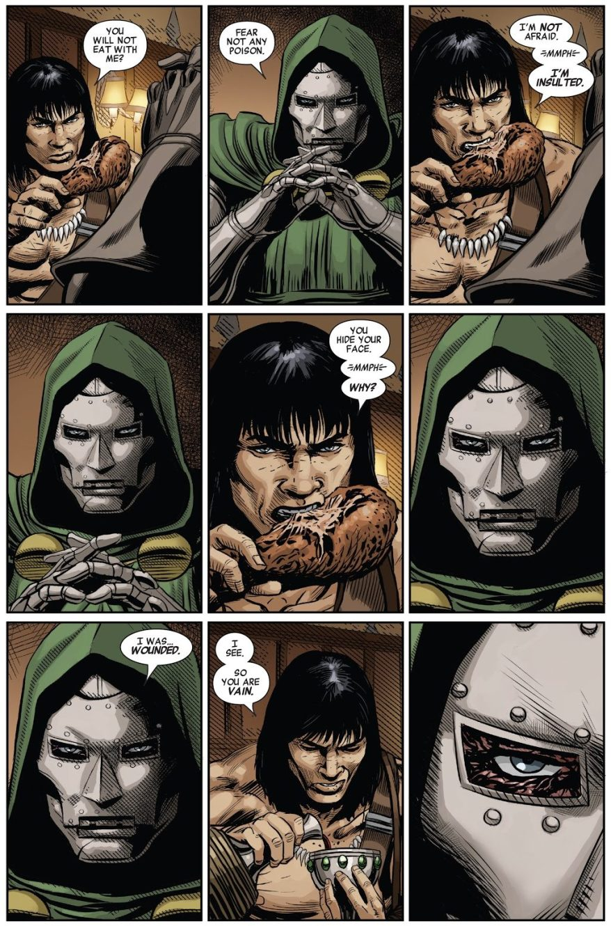 Conan The Barbarian Calls Doctor Doom Vain
