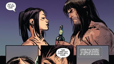 Conan The Barbarian Inside A Brothel