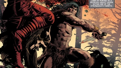 Conan The Barbarian (Savage Avengers #1)