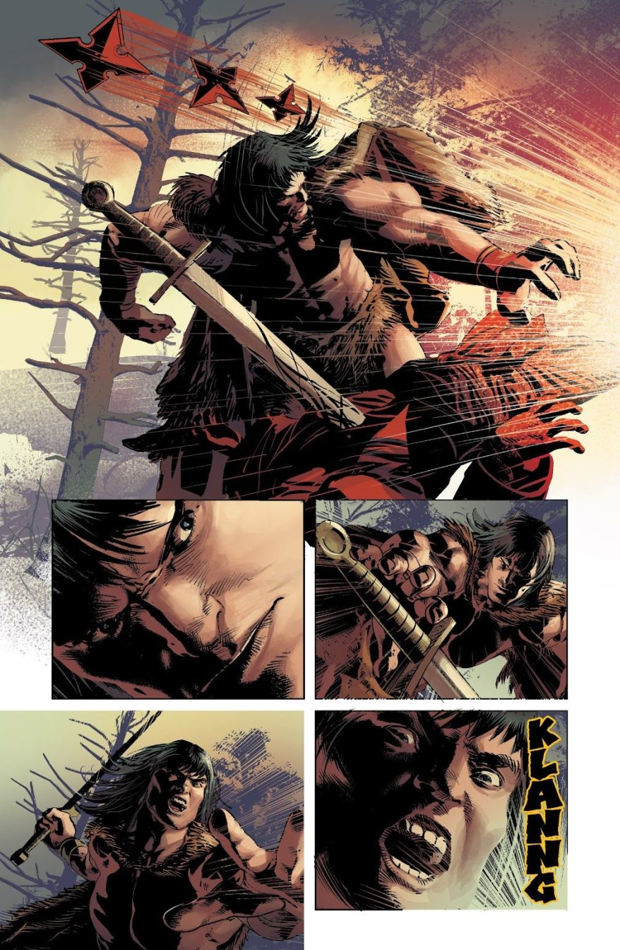 Conan The Barbarian VS Hand Ninjas