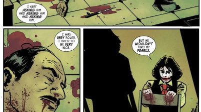 The Joker Martha Wayne Kills Alfred Pennyworth