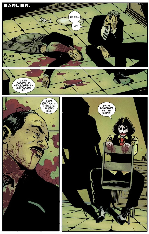 The Joker Martha Wayne Kills Alfred Pennyworth