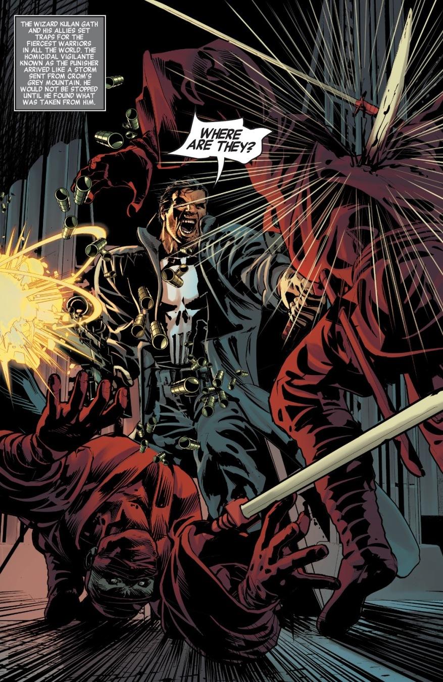The Punisher (Savage Avengers #3)