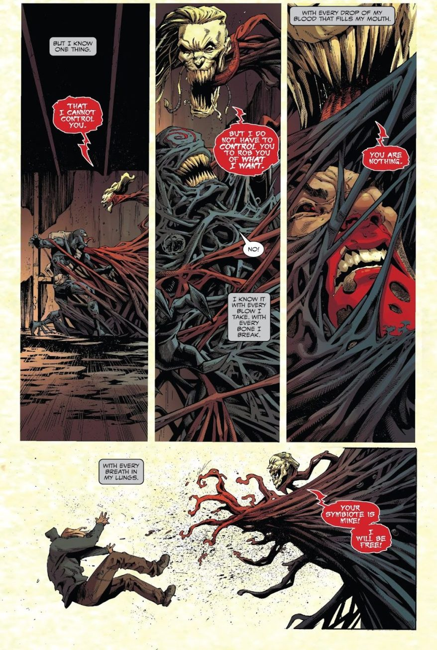 Venom Burns And Kills Knull