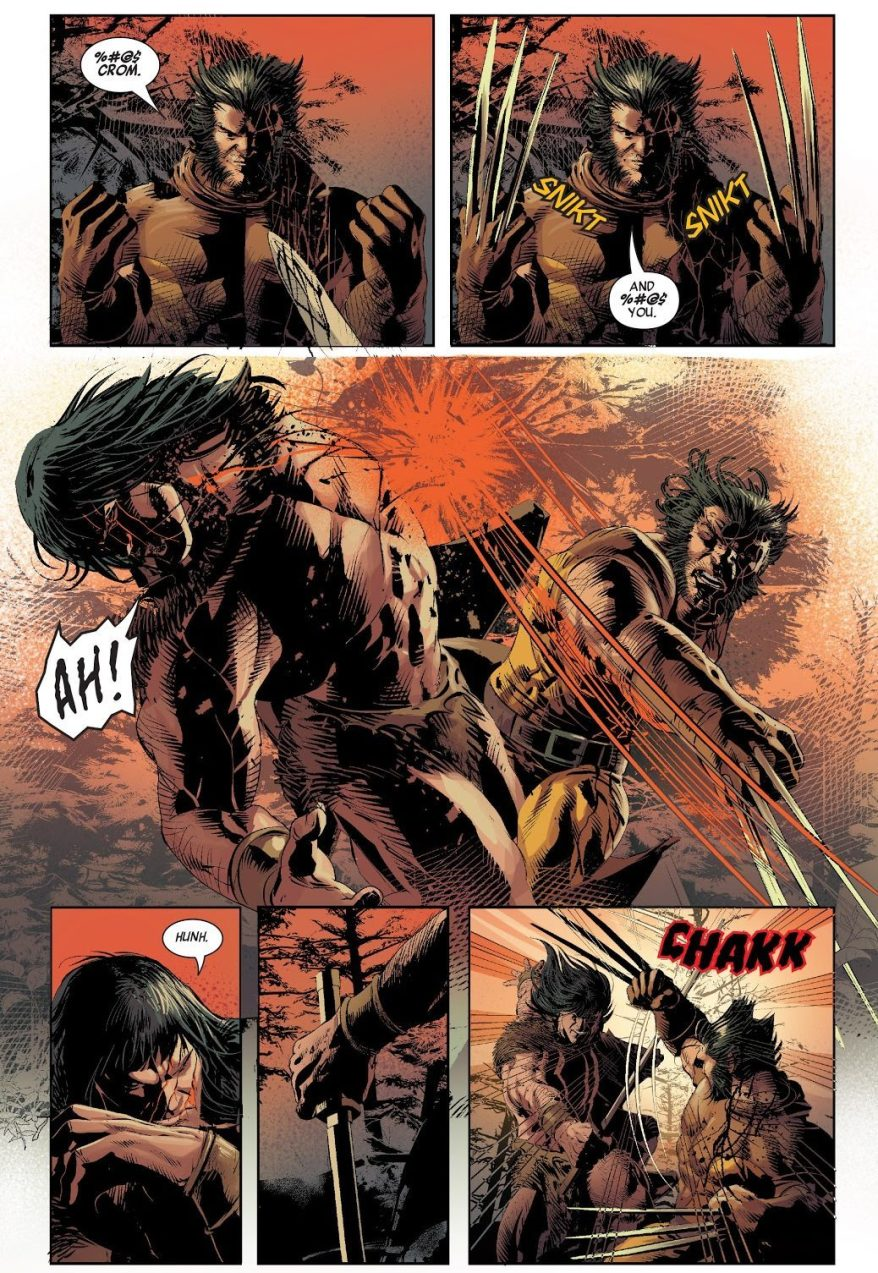 Wolverine VS Conan The Barbarian