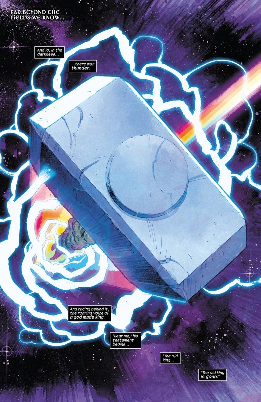 Iron Man Sharpies Mjolnir