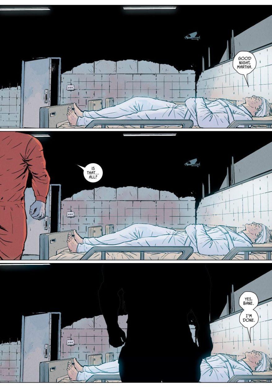 Bane Breaks Thomas Wayne's Back