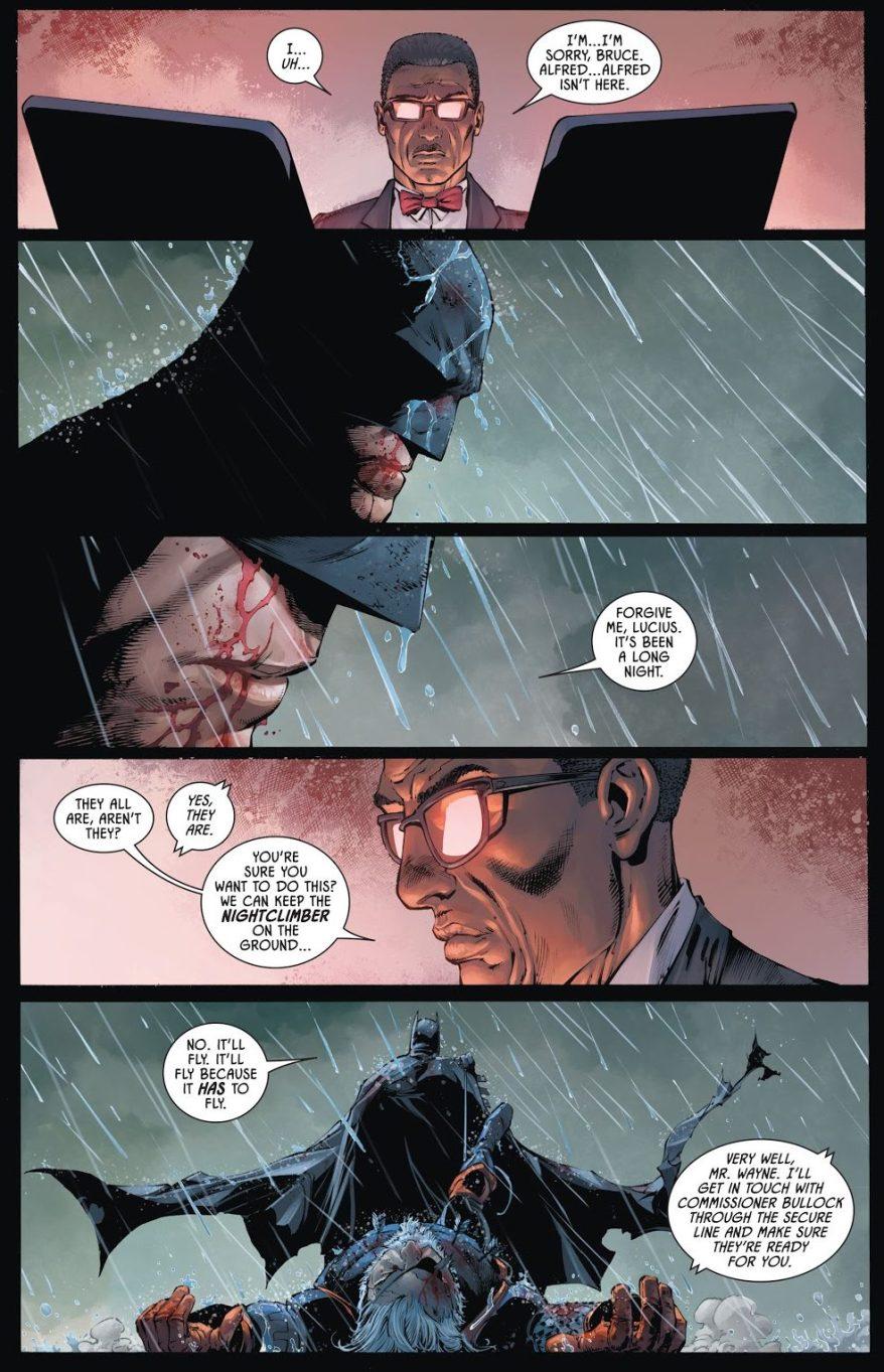Batman's New Car: The Nightclimber
