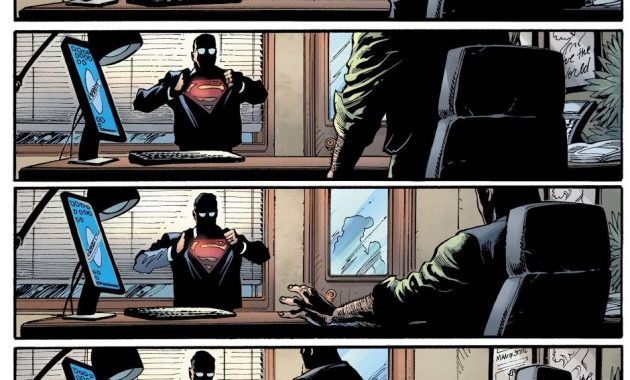 Clark Kent Tells Perry White He's Superman