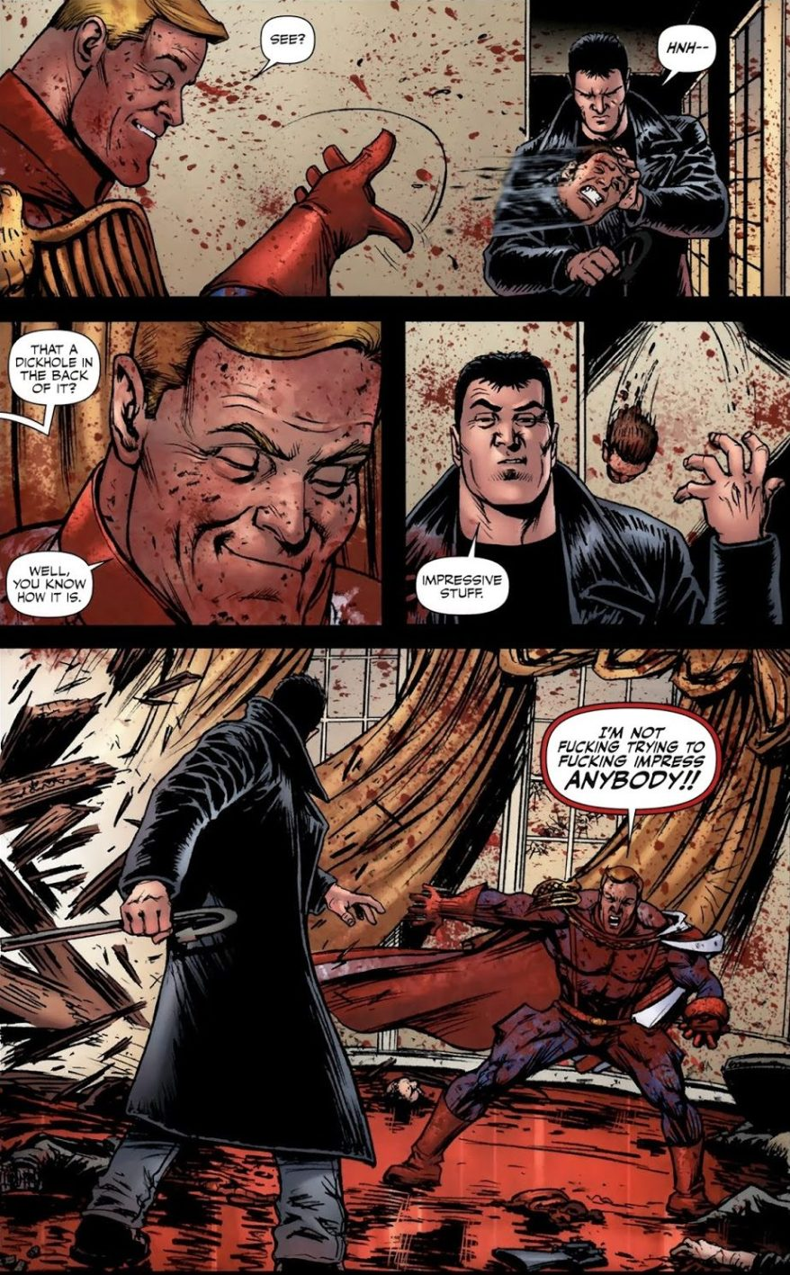 Homelander Kills The Vice President