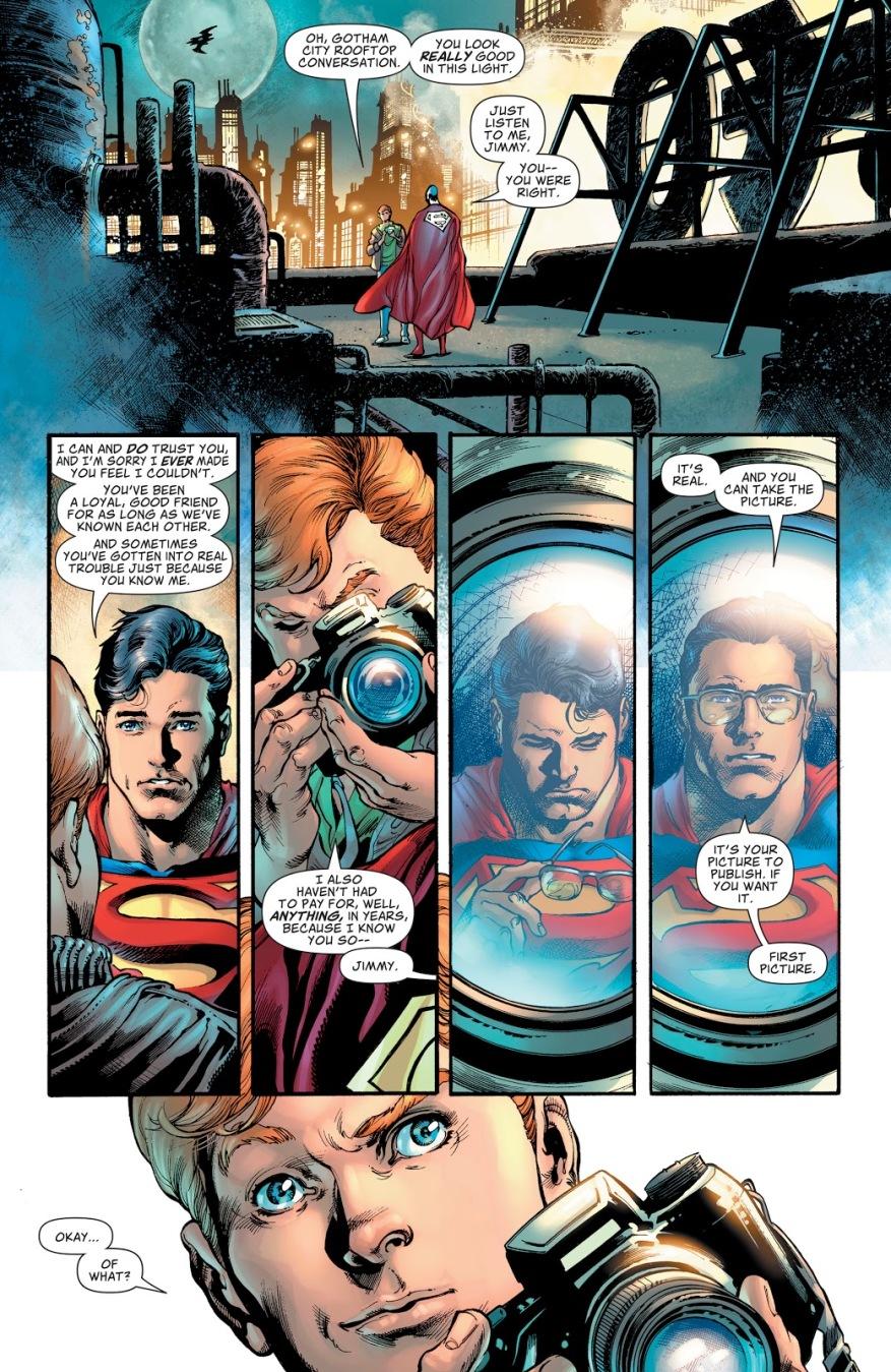 Superman Tells Jimmy Olsen He's Clark Kent